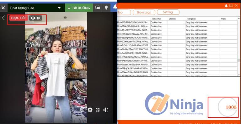 phan-mem-tang-view-livestream-tuong-tac-ninja-share-livestream